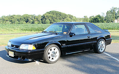 Ford : Mustang GT Hatchback 2-Door 1993 mustang cobra saleen svt clone with 1994 3.8 supercoupe engine veryrare