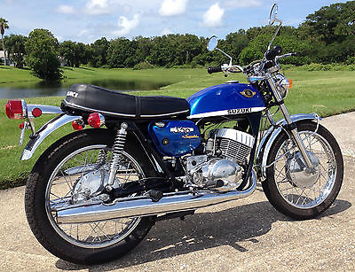 Suzuki : Other 1970 suzuki t 350 rebel fully restored