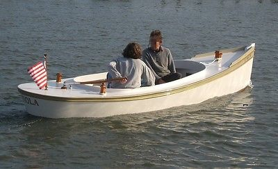 16' Classic Electric Fantail Launch