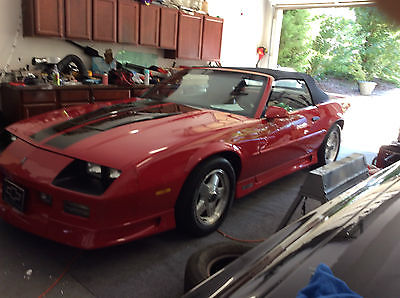 Chevrolet : Camaro z28 conv. 25th Heritage 1992 camaro z 28 25 th conv heritagez 03 37 500 seo new documents posted