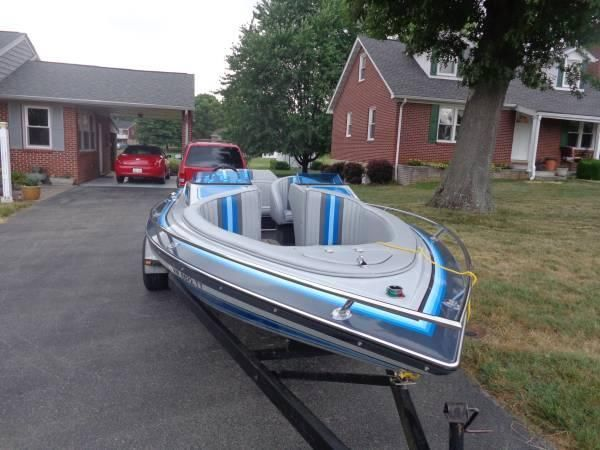 20' 1987 Cole Open Bow