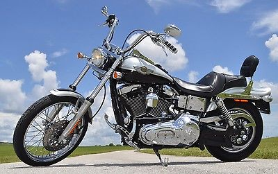 Harley-Davidson : Dyna 2 000 in extras 2003 harley davidson 100 th anniversary wide glide dyna fxdwg