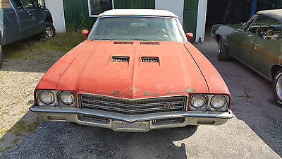 Buick : Skylark convertible GS 1971 buick gs convertible all original and solid very low miles