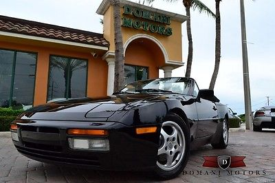 Porsche : 944 S2 1990 porsche 944 s 2 cabriolet only 77 k miles rare and collectible