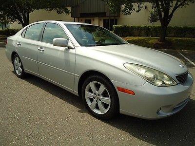 Lexus : ES Base Sedan 4-Door 2005 lexus es 330 v 6 auto leather sunroof new car trade clean carfax runs great