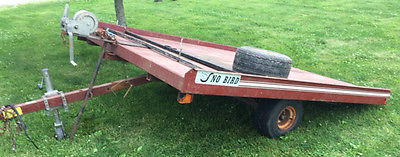 Sno Bird Snowmobile TILT Trailer
