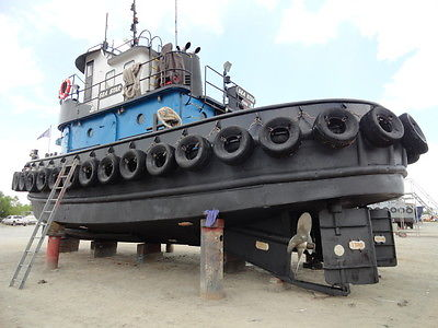600 hp twin engine model bow Tug Boat