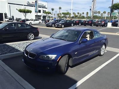 BMW : 3-Series 328i 328 i 3 series low miles 2 dr convertible 6 speed gasoline 3.0 l straight 6 cyl le