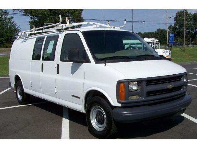 Chevrolet : Express 1-OWNER 123K BINS COM 2 E250 E350 FORD POWERSTROKE NICE-EZ-LIFE-TURBO-DIESEL-SOUTHERN-3500-G30-1-TON-EXT-BODY-HD-PRE-DURAMAX-WAGON