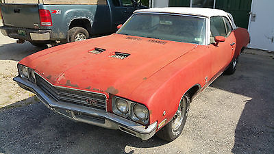 Buick : Skylark convertible GS 1971 buick gs convertible all original and solid very low miles, 2