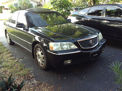 Acura : RL RL3.5 2004 acura rl 3.5 with navigation bose sound heated seats fully loaded