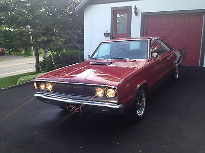 Dodge : Coronet R/T 1967 dodge coronet r t original ws 23 l car with power windows