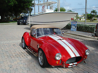 Shelby : 427 Cobra Roadster Cobra 427 Backdraft Shelby Roadster - Roush 427 515 HP - Low Miles - Great Price