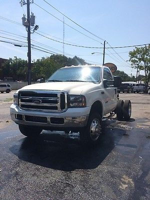 Ford : Other Pickups Limited 1999 ford f 550 super duty xl cab chassis 2 door 7.3 l