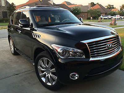 Infiniti : QX56 QX 56 2011 infiniti qx 56 immaculate with all packages options