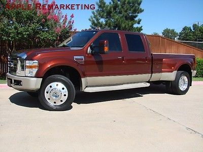 Ford : Other Pickups King Ranch 4X4 Ford F-450 King Ranch 6.4L Turbo Diesel Nav MoonRoof Bank Finance 48 pics