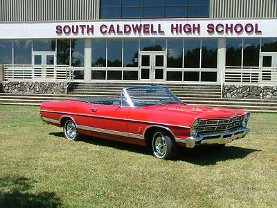Ford : Galaxie Galaxie 500 1967 ford galaxie 500 convertible