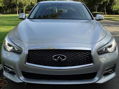 Infiniti : Q50 Q 2015 infiniti q 50 sedan 4 door 3.7 l back up cam push to start clean car fax