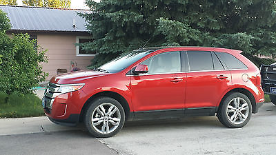 Ford : Edge Limited Sport Utility 4-Door Red Candy Metallic, excellent condition, fully loaded limited edition