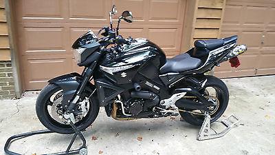 Suzuki : Other Rare 2008 Suzuki B-King GSX-1340BK black, with mods