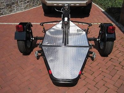2008 Kendon Single Stand-Up Motorcycle Trailer, Very Limited Use.