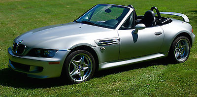 BMW : M Roadster & Coupe 2001 bmw z 3 m roadster convertible 2 door 3.2 l 81 k miles subframe reinforcement