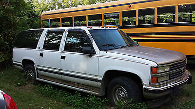 Chevrolet : Suburban LT 1994 suburban 454 big block engine runs great needs transmission