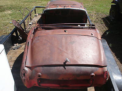 Triumph : Other TR3 1959 triumph tr 3 body