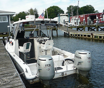 22ft.Twin Vee Power Cat with 2003 Twin Honda 115 hp 4 strokes w/ trailer