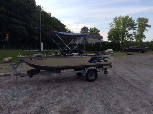 15' Sea Nymph Aluminium fishing boat
