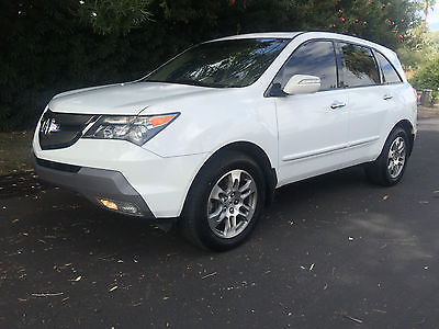 Acura : MDX Tech Package SH-AWD 2007 acura mdx base sport utility 4 door 3.7 l awd tech package