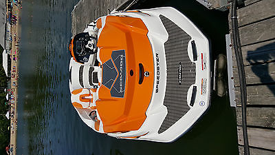 ORANGE SEA DOO SPEEDSTER 150HO 255 HP