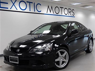 Acura : RSX 2dr Coupe Type-S 6-Speed Manual Leather 2005 acura rsx type s coupe 6 speed moonroof bose 6 cd cassette 17 wheels 1 owner