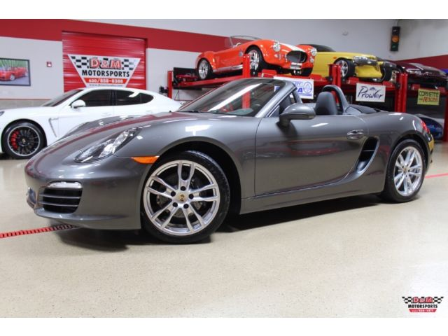 Porsche : Boxster Roadster 13 boxster only 7 255 miles 1 owner pdk automatic 19 inch wheels sports tailpipe