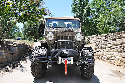 Willys : CJ-3B High Hood Custom Built ONE OF A KIND No expense spared in this Chevy 350 JEEP