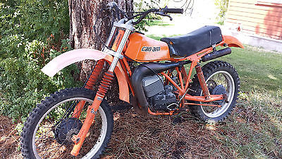 Can-Am 1979 canam mx 250 motocross parts bike