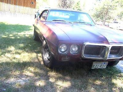 Pontiac : Firebird Base Hardtop 2-Door 1969 pontiac firebird s matching all original 350 ci 5.7 car in good condition