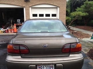 Chevrolet : Malibu 4S Only 145,000! It runs-requires some body work!