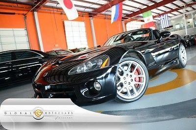 Dodge : Viper SRT10 04 dodge viper srt 10 convertible manual