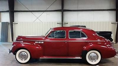 Buick : Other BUICK SUPER SERIES 50 1940 buick super series 50 roadmaster limited inline 8 original beautiful