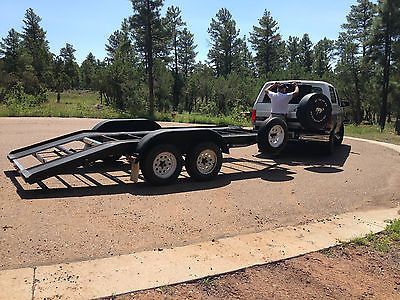 2000 Homemade Cargo/Vehicle Trailer 19' X 8 1/2'
