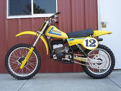 Suzuki : RM 1979 suzuki rm 125 n