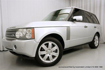 Land Rover : Range Rover Hse 2006 land rover range rover hse fully serviced navigation bluetooth clean