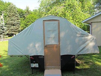 Vintage Pop Up Camper 1962 EZ Kamper Very Good Condition