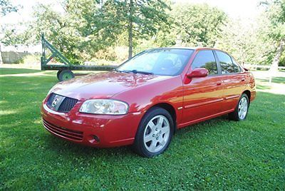 Nissan : Sentra 4dr Sedan I4 Automatic 1.8 S 2006 nissan sentra 1.8 special edition nice red look warranty wow low miles