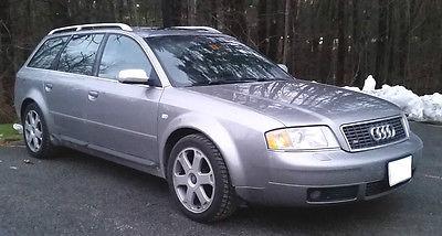 Audi : S6 Avant 2002 audi s 6 avant
