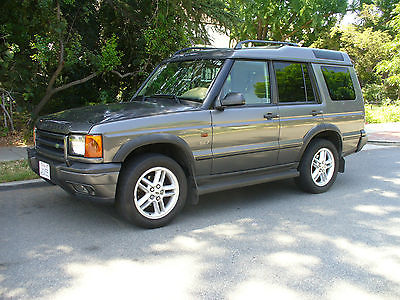 Land Rover : Discovery Beautiful California Rust Free Land Rover Discovery SE 7  Rear Jump Seats