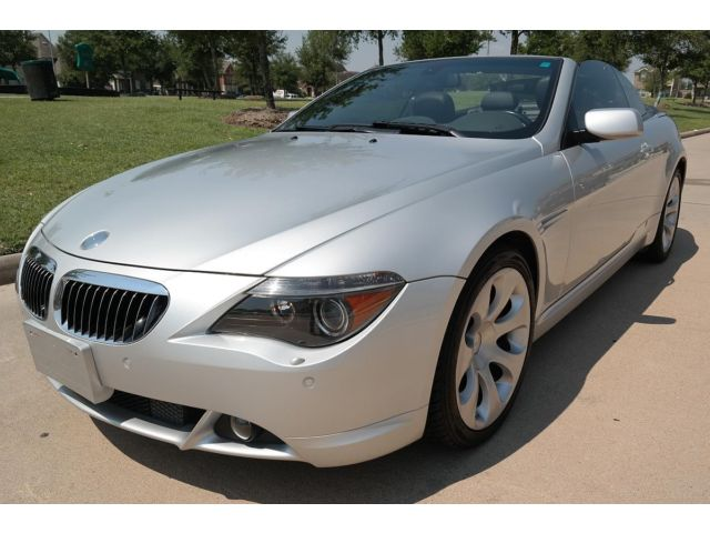 BMW : 6-Series 2dr 645Ci Ca 2004 bmw 645 i convertible clean title rust free non smoker low miles