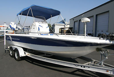 2007 VIP BAY STEALTH 2230 BSVL FISHING BOAT