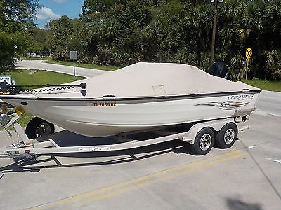 2008 CRESTLINER 202 TS ALUMINUM WALLEYE BASS CRAPPIE FISHING BOAT DOWN RIGGERS